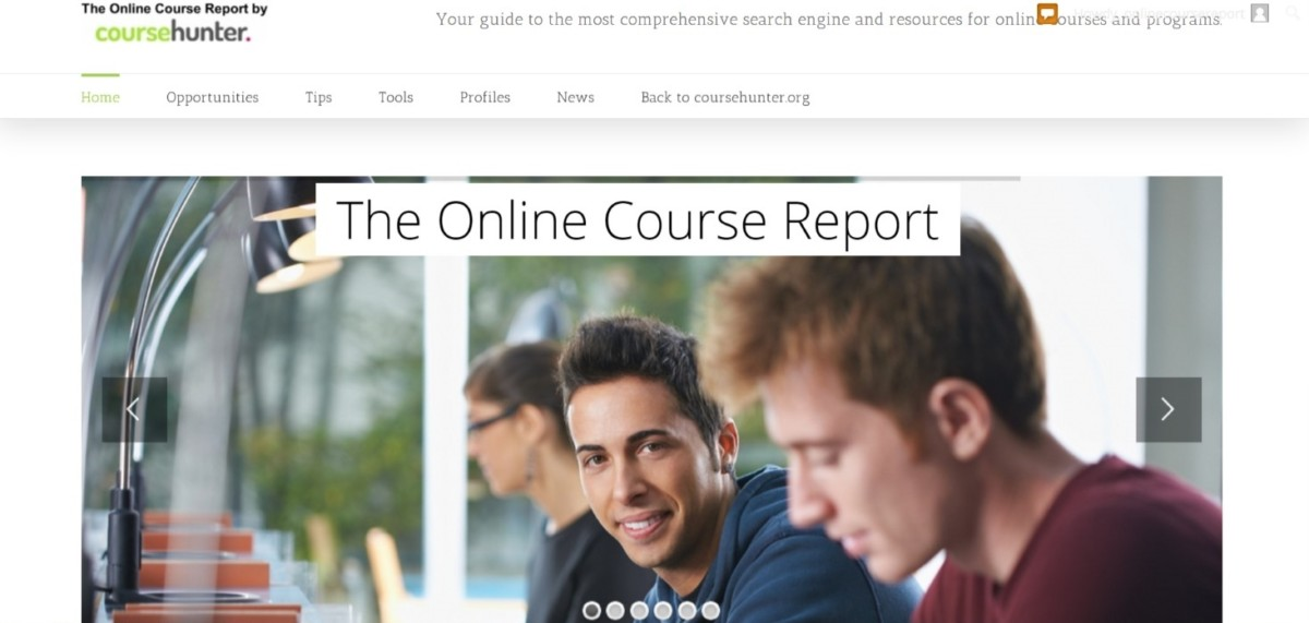 online course report